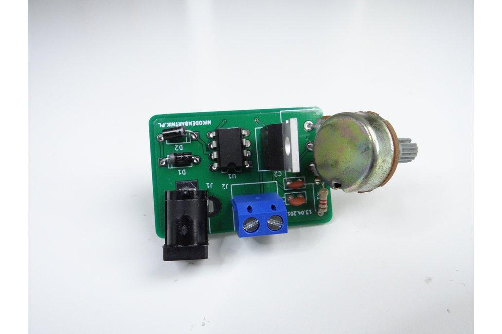555 PWM motor controller PCB 4