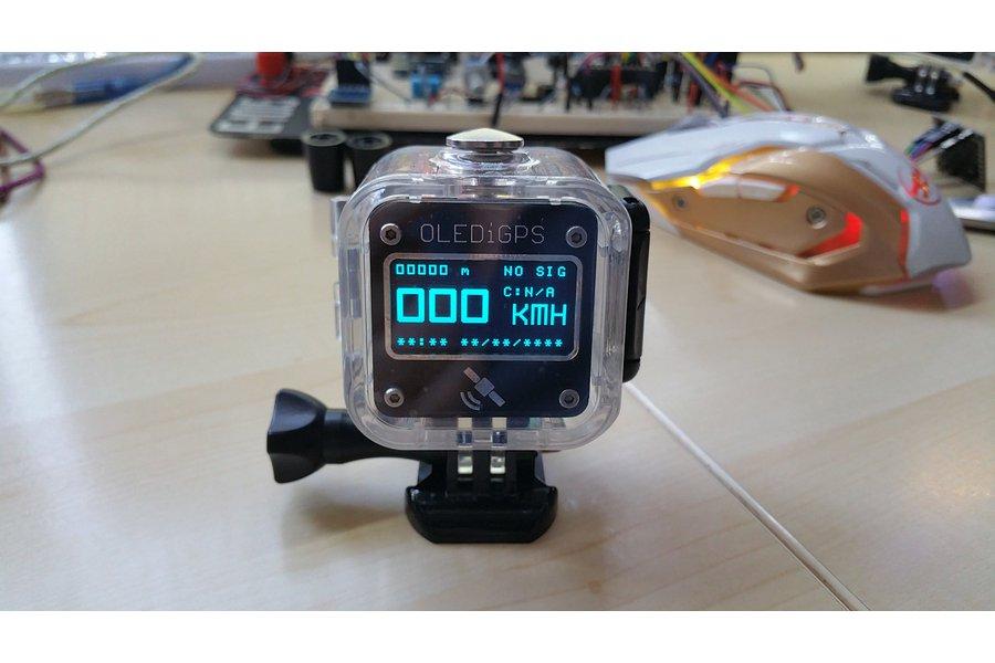 OLEDiUNO GPS Cube