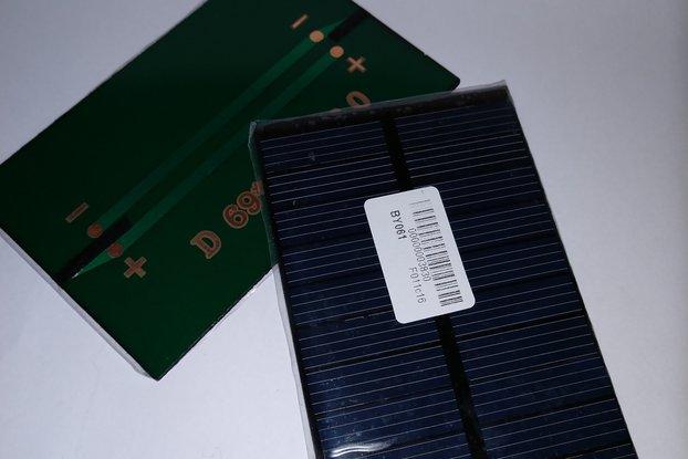 Unterminated 5V 250mA Solar Panel