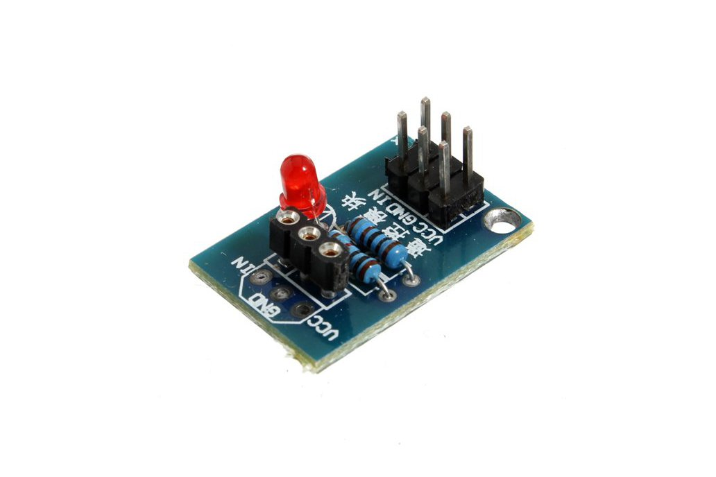 Infrared Remote Control Module With Receiving Head HX1838 NEC Coding 5