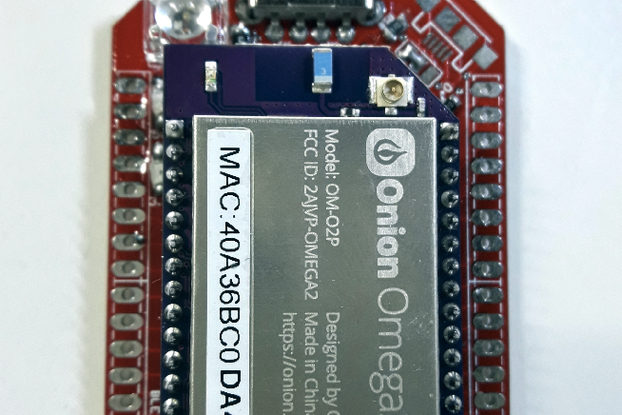 Onion Omega 2 - BLE Pro Expansion Board