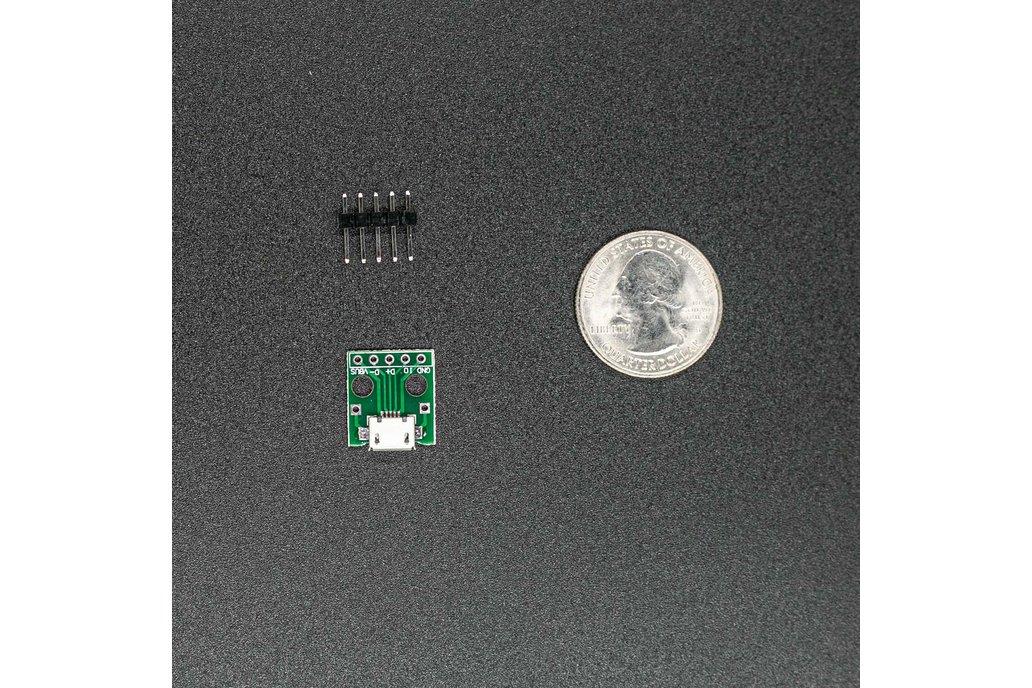Micro USB Breakout Module 1