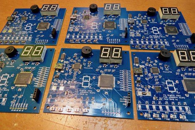 VHDL training board by FPGA!