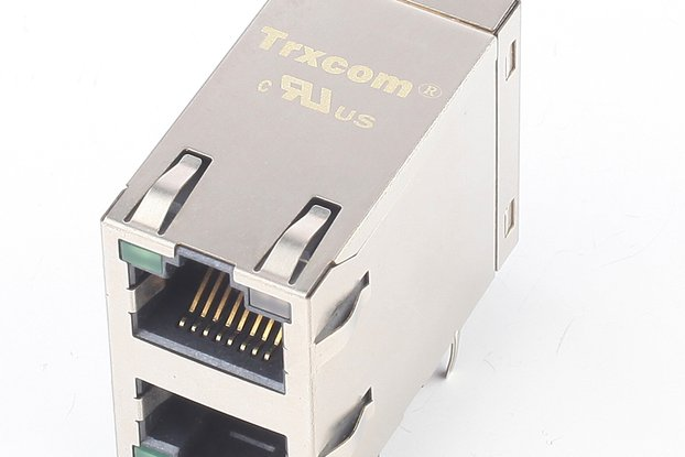 10/100Base-Tx Multiple Ports 2x1 RJ45 Connector