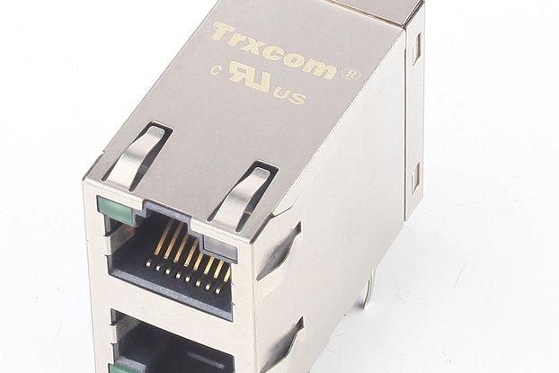 10/100Base-Tx Multiple Ports 2x1 RJ45 Connector