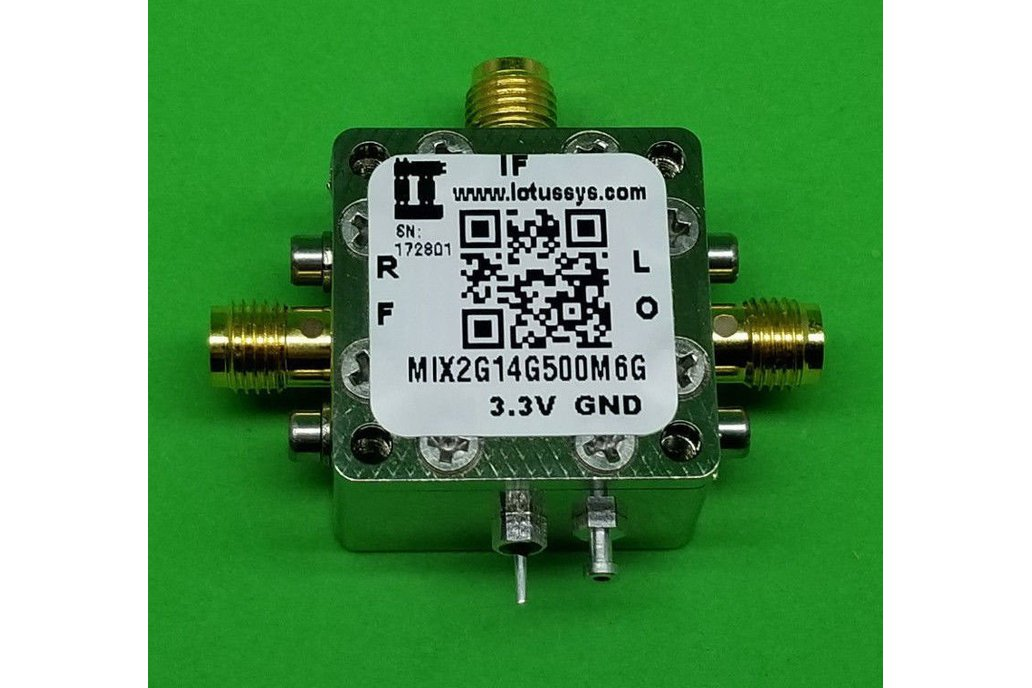 MIXER 2GHz to 14GHz RF and 500M - 6G IF (LTC5549) 1