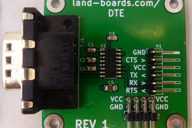 TTL to RS-232 (DCE or DTE)