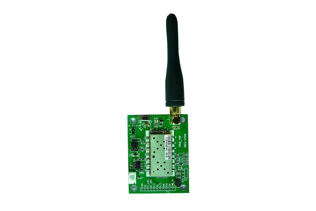 FRS_DEMO_A  demo board (for 1W/VHF  module) 1