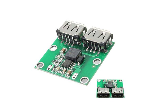 Dual USB Charger Board 5V 3A Car Charger Module