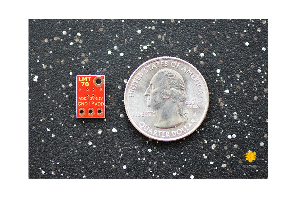 LMT70  ±0.1°C Precision Analog Temperature Sensor 4