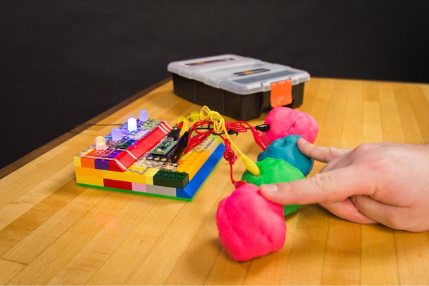 Crazy Circuits with Squishy Circuits Kit