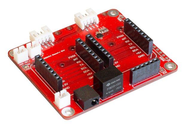 mikroBUS dual slots BaseA+ 5W