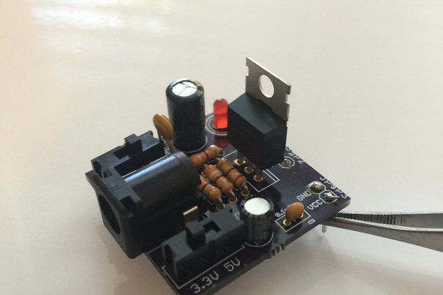 Purple Squirrel Breadboard Power Supply
