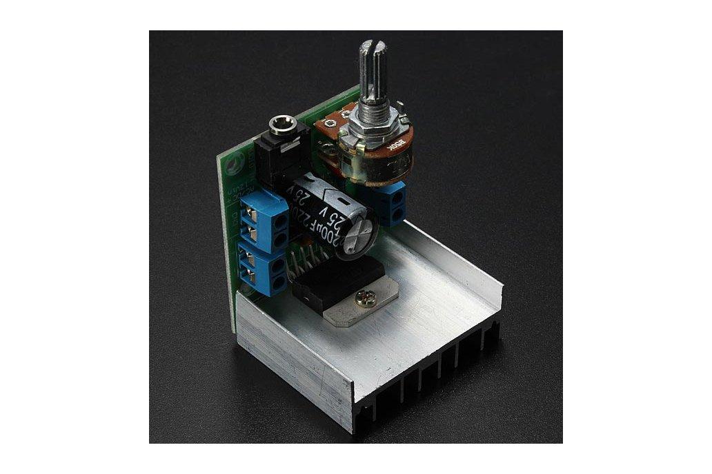 AC/DC 12V 2 x 15W TDA7297 Version B Digital Audio Amplifier Board Dual-Channel 2