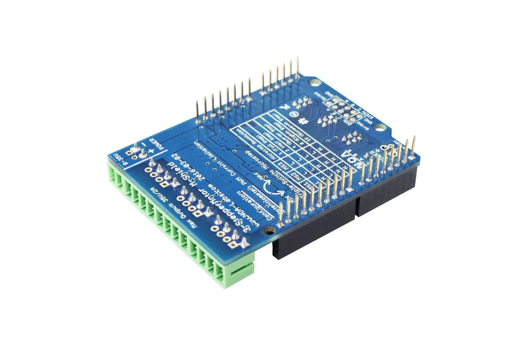 Stepper Motor Driver Arduino Shield V1.0 3xA4988 5