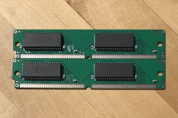 GW4404A - 2x 256 kB 68-pin VRAM SIMM for Macintosh