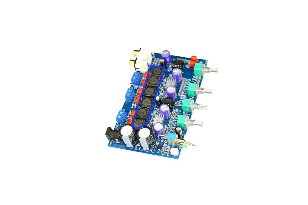 Hi-Fi   Amplifier Board 100W subwoofer + 50W+50W 1