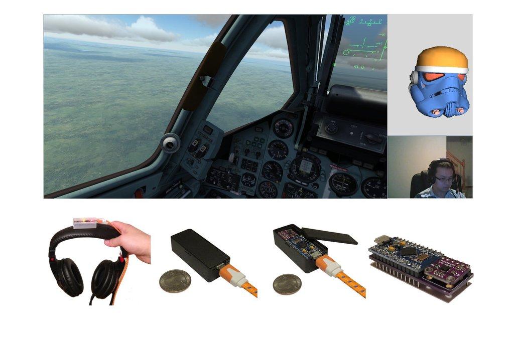 TrackIMU (DIY Kit): IMU-Based Wearable Head Track 2