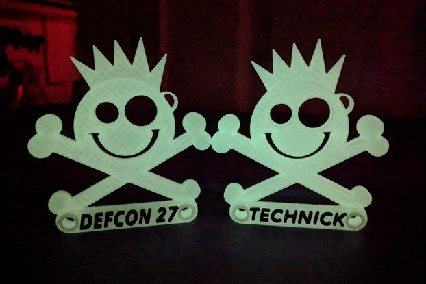 New Jack Badge - Custom Printed- DefCon 27