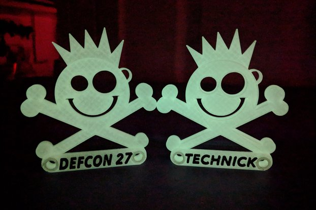 New Jack Badge - Custom Printed- DefCon 27 / Derby