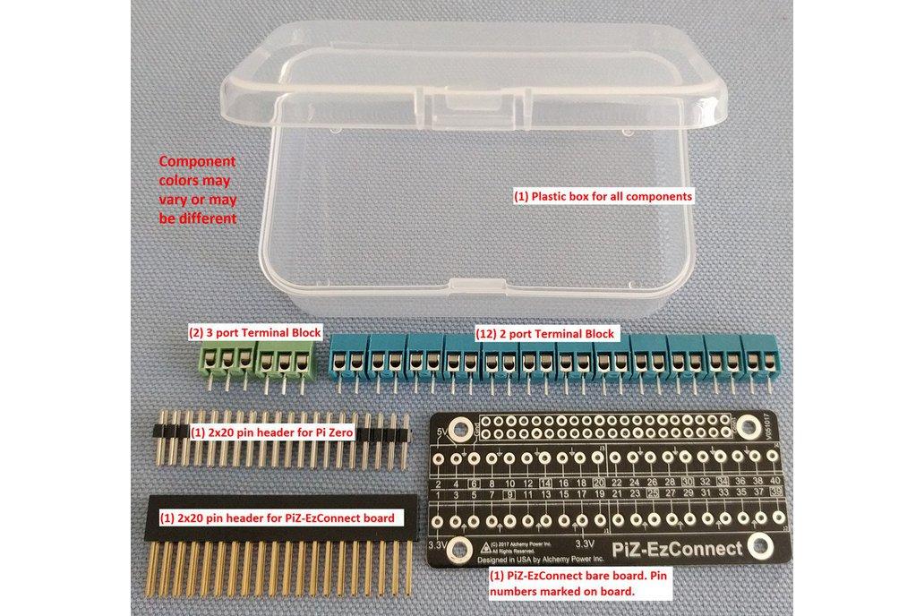 Pi-Zero-EzConnect KIT - Customize a GPIO connector 2