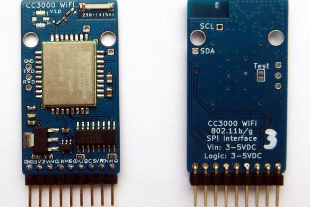 CC3000 WiFi Breakout with Onboard Antenna