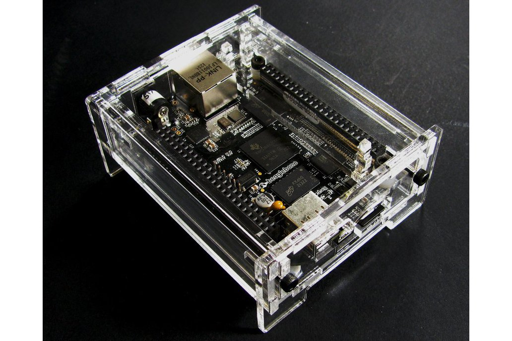 BeagleBone Black Enclosure - Clear Acrylic 1