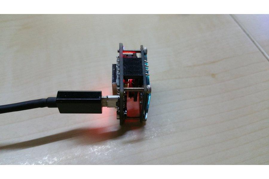 OLEDiESP a Tiny Cube with ESP07 / ESP12 + OLED IoT
