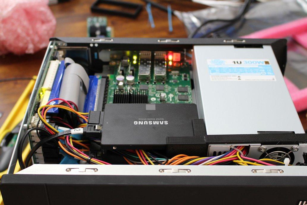 PSU Bracket for U-NAS NSC-800 NAS Server Chassis 6