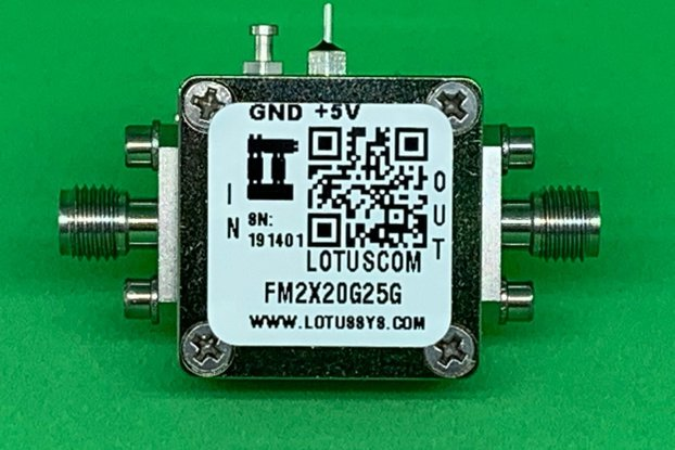 Active Freq. Multiplier X2 (OUTPUT 20 to 25 GHz)