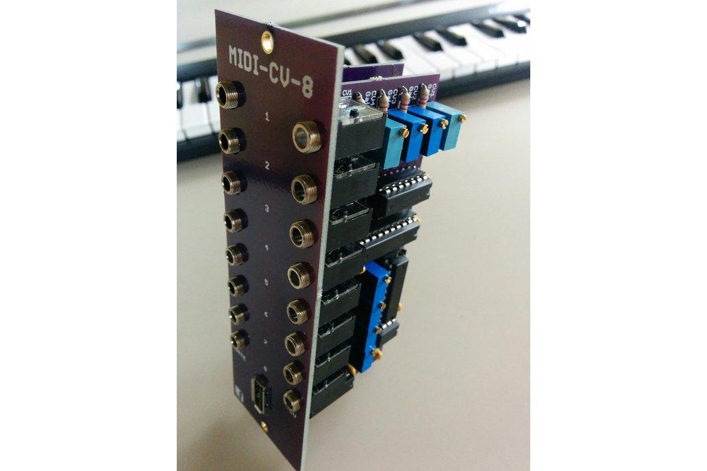 MIDI-USB Keyboard Controller (Eurorack PCB Set) 4