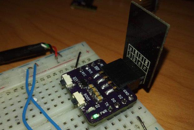 ESP 01 Breakout Board