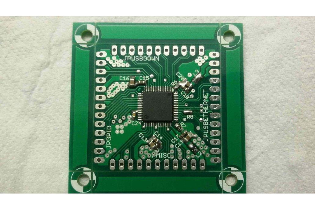 LAN951X USB (-HUB), Ethernet & GPIO adapter board 1