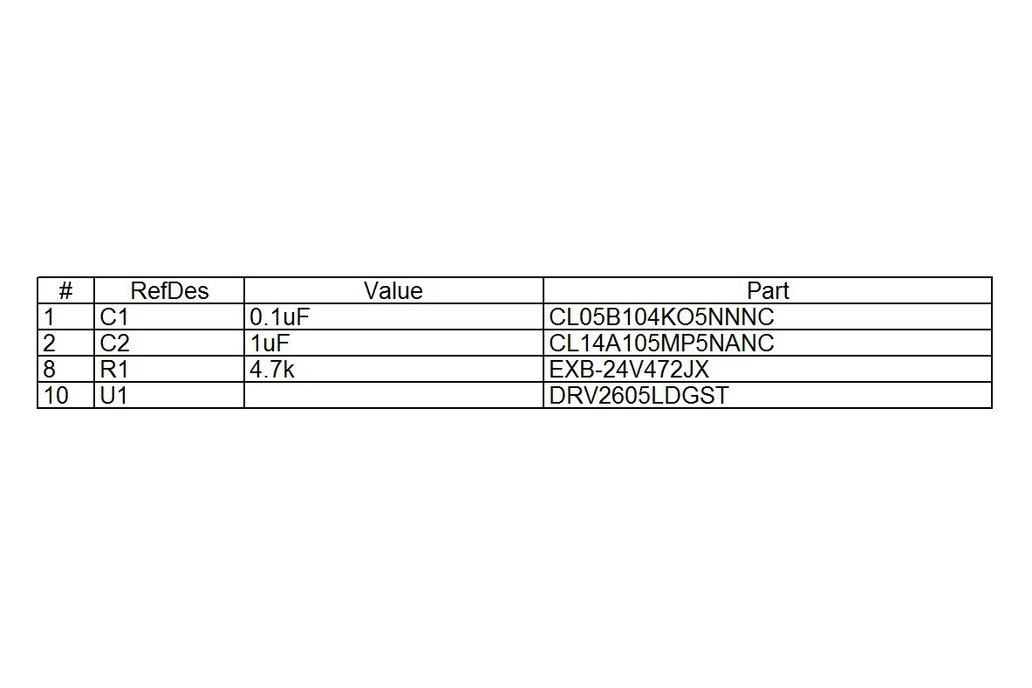 LRA Haptic Flex Module 5