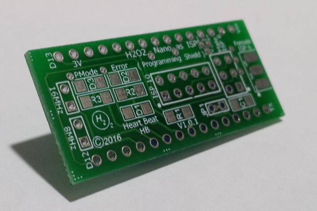 H2O2-Nano As ISP Shield - PCB Only