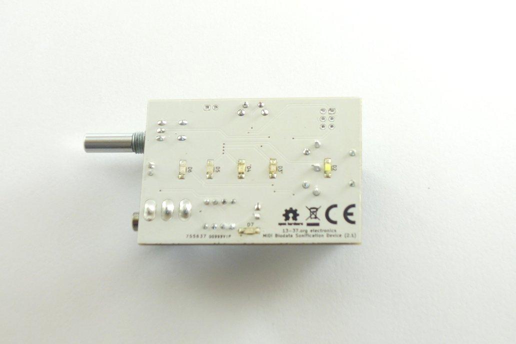 MIDI Biodata Sonification Device v2.1 5