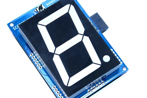 "2.3"" common anode seven segment display driver"