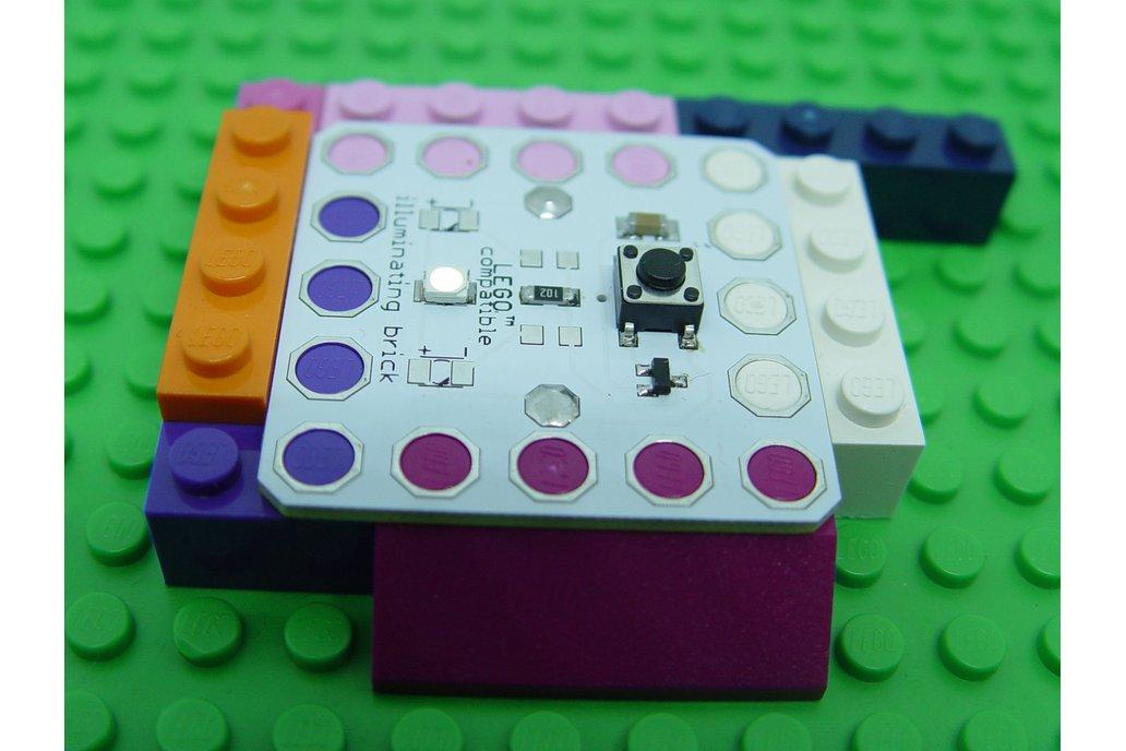 Illuminating LED brick 5x5, learn to solder KIT 1