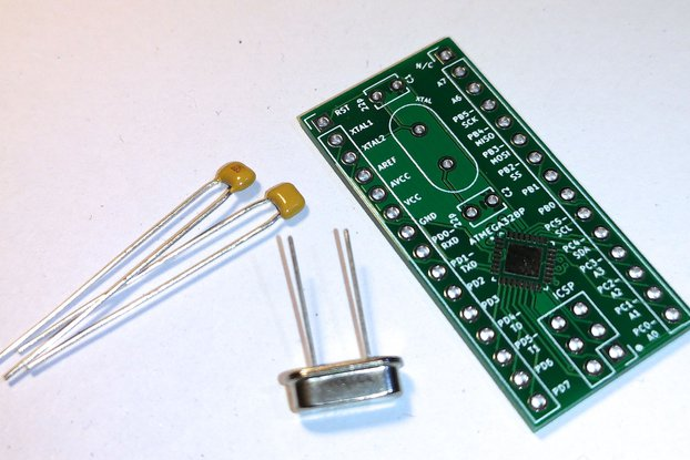 Arduino ATMEGA328P Breakout Board - MiAU DevKit