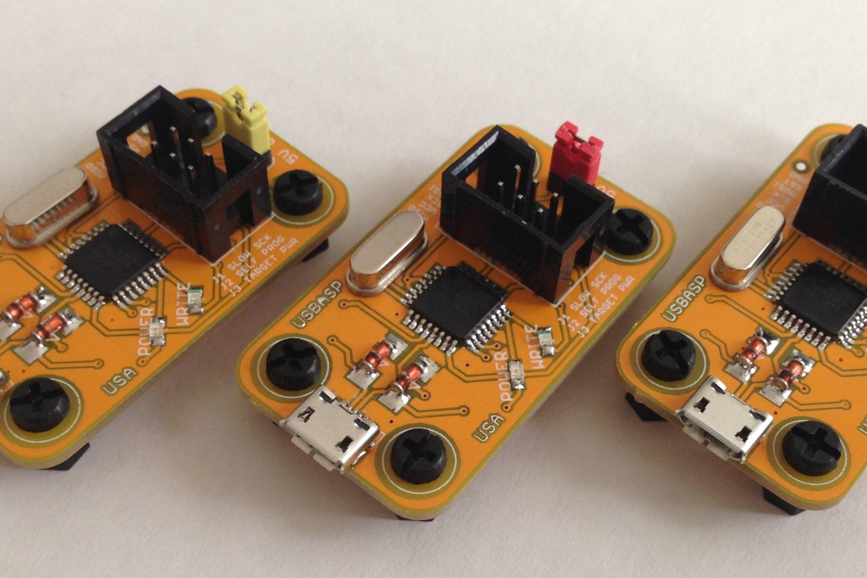 Golden State Usbasp From Ptudor On Tindie Atmel Usb Programmer Circuit Zif Socket Atmega8 2 8