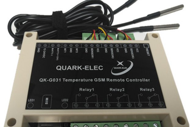QK-G031 Temperature GSM Remote Control with sensor