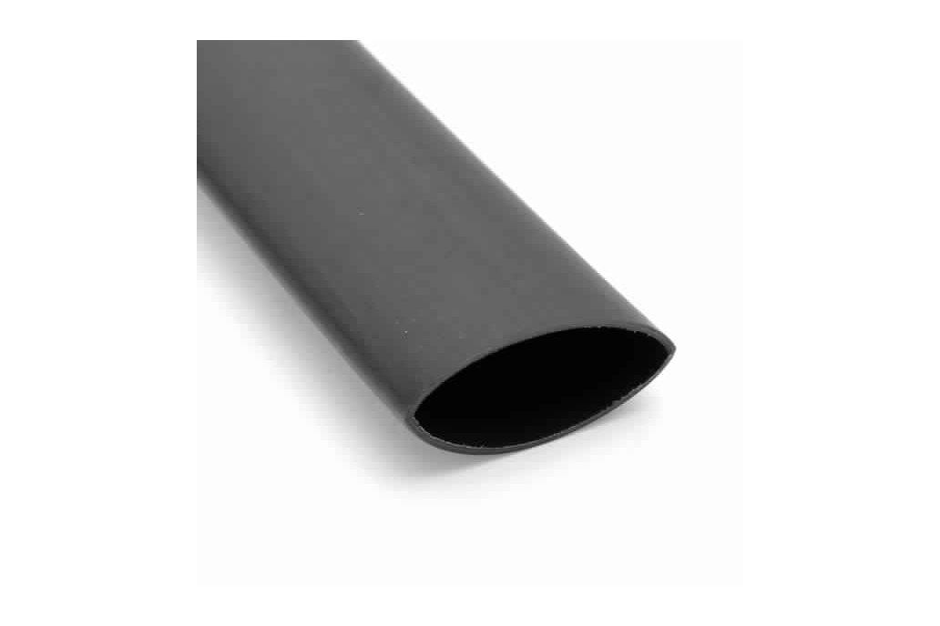 Heat Shrink Tubing 12.7 mm Black Tube 1