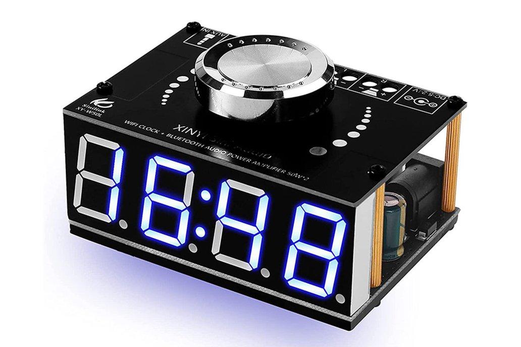 Bluetooth Amplifier WiFi Electronic Clock _GY19622 1