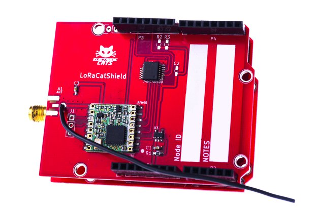 CatWAN Shield Lora and LoraWAN for Arduino