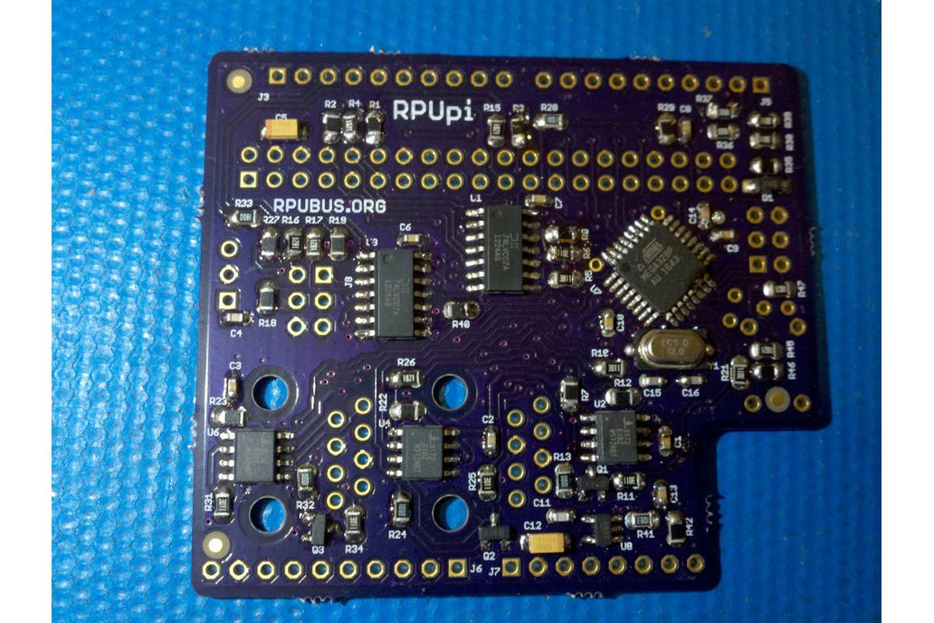 RPUpi - a shield for Pi Zero and RS-422 over CAT5 2