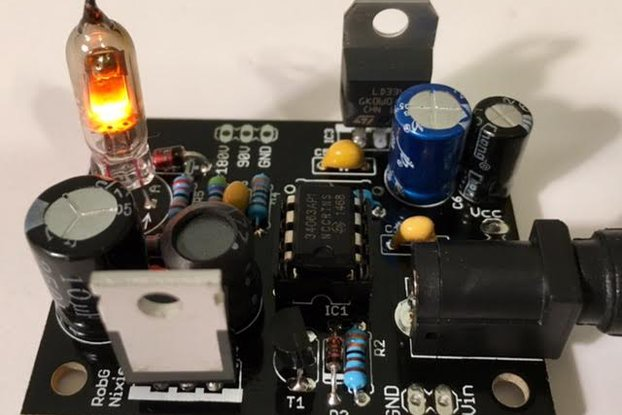 Nixie tube power supply kit