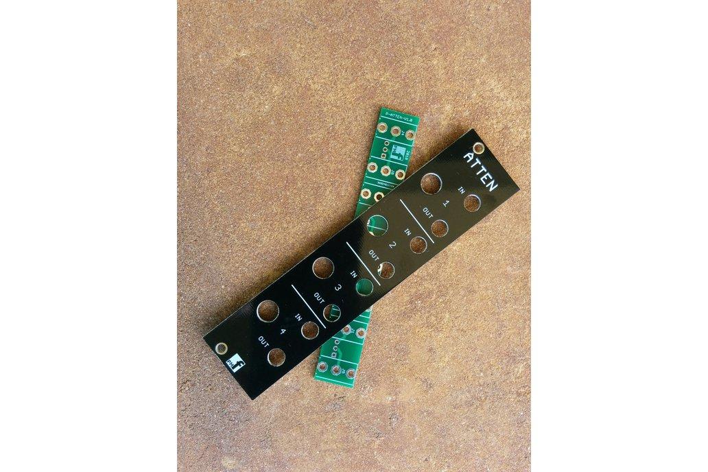 Quad Attenuator (Eurorack PCB Set) 1