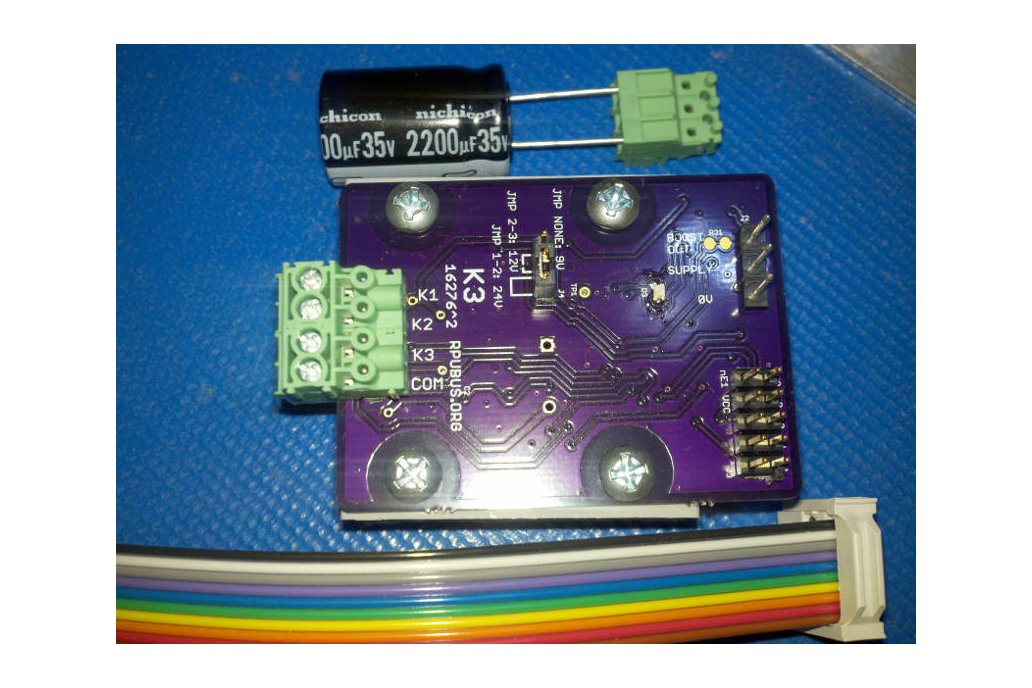 K3 - a latching solenoid driver board 4