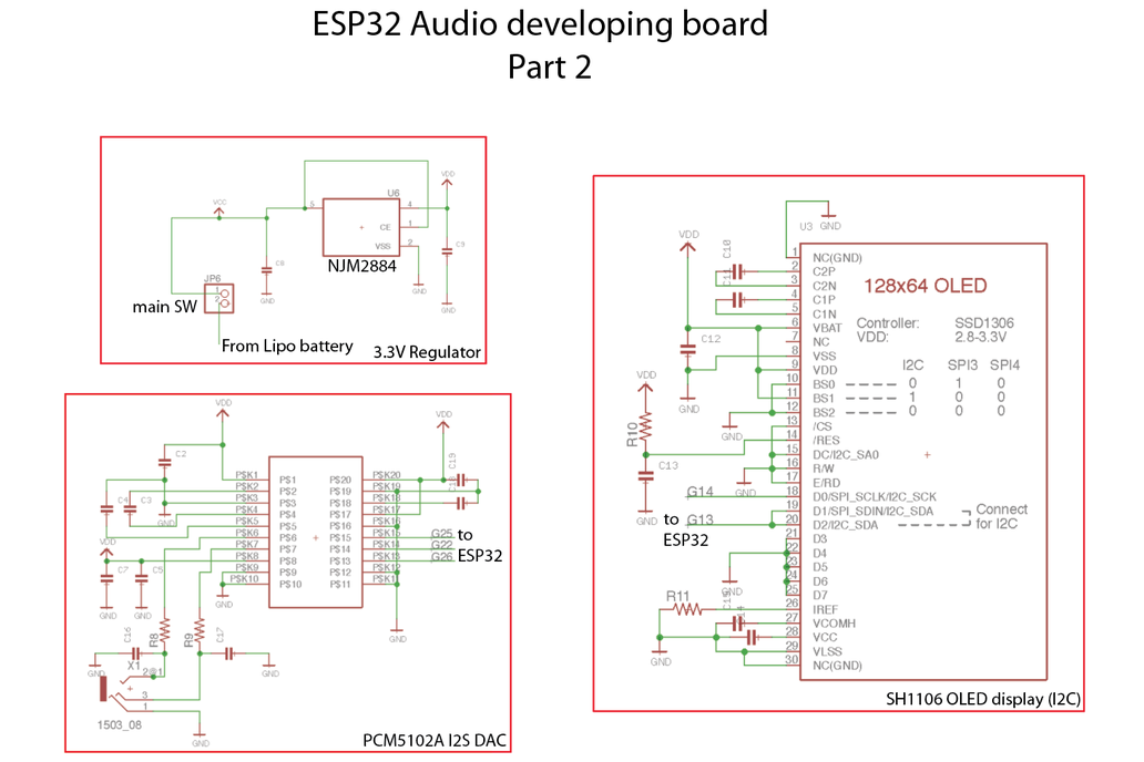 ESP32 Audio developing board (ESP32-ADB) 9