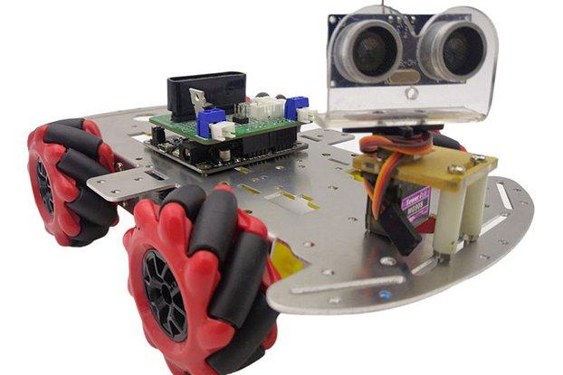 Mecanum wheel metal chassis kits